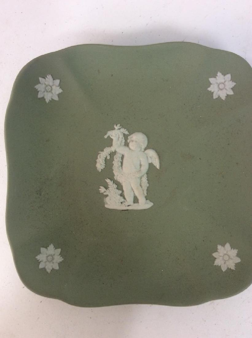 Group Wedgewood Porcelain Trinket Plates - 6