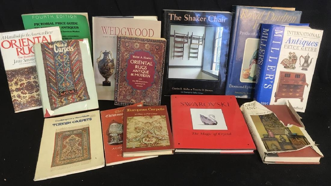 Lot 13 Antiques Carpets Wedgwood Reference Books