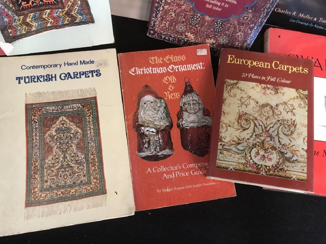 Lot 13 Antiques Carpets Wedgwood Reference Books - 2