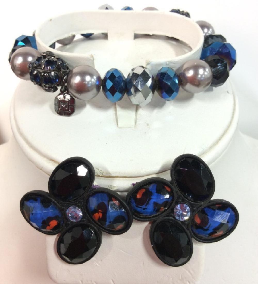Lot 2 Rhinestones and Beads Jewelry