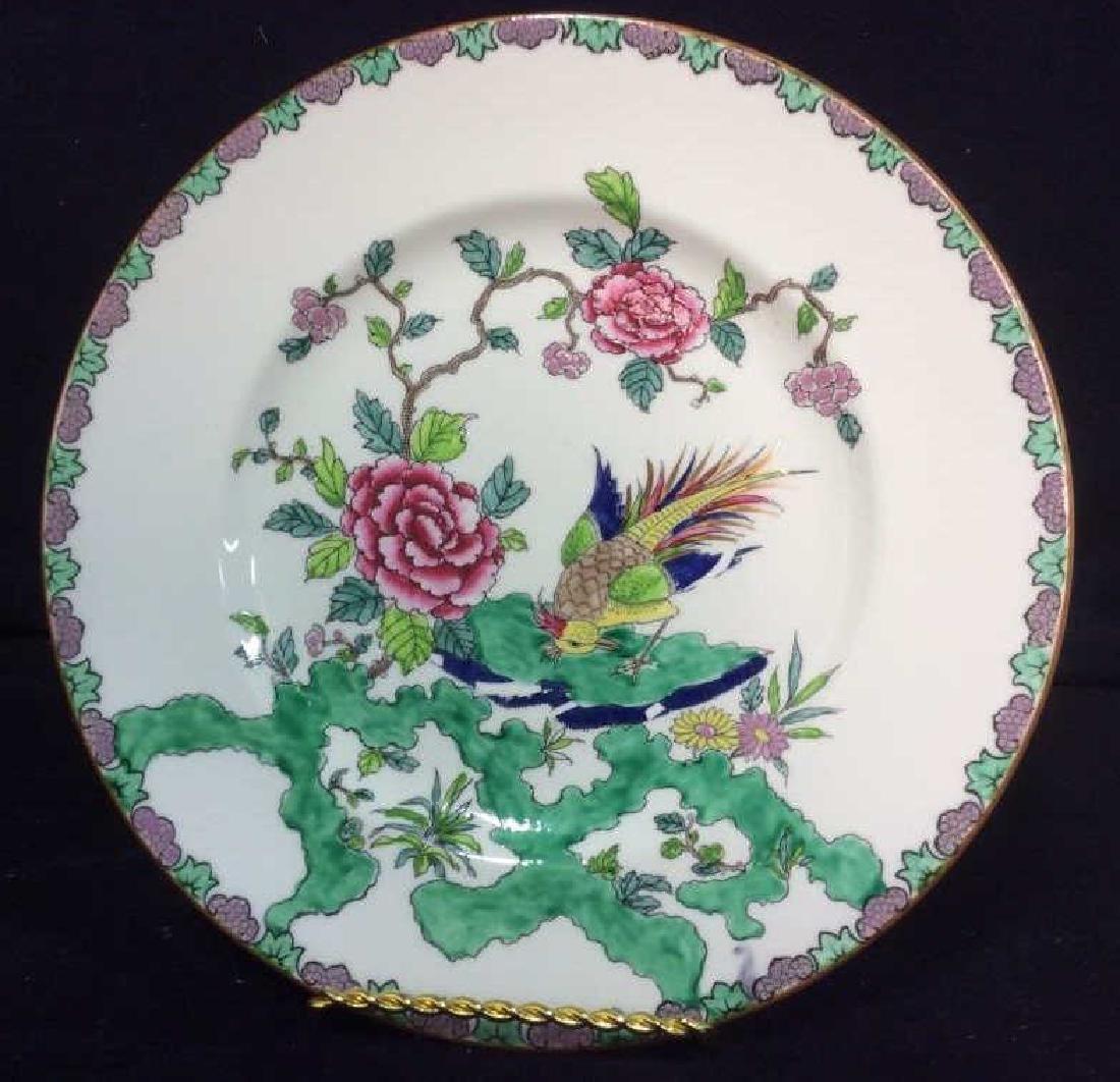 CROWN STAFFORDSHIRE Rock Bird Decorative Plate