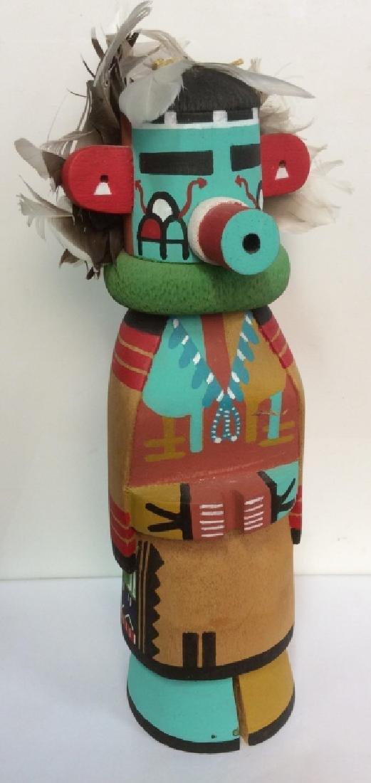 Original Handmade & Signed Kachina Doll