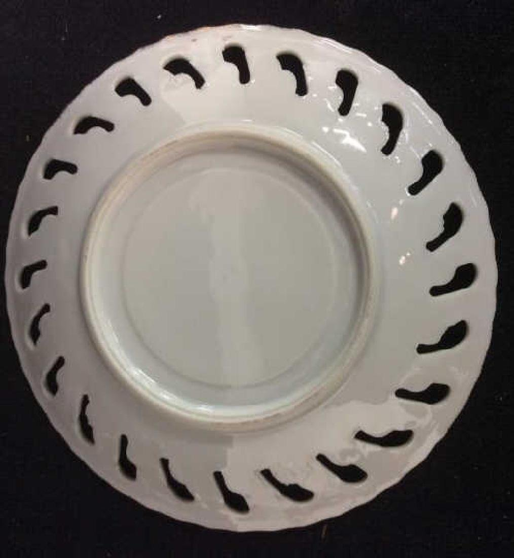 Set of Pearlescent Tea Cups & Saucers - 5