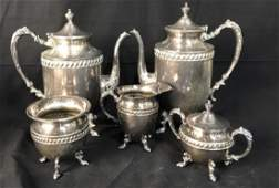 Silver Pl Coffee Service Set