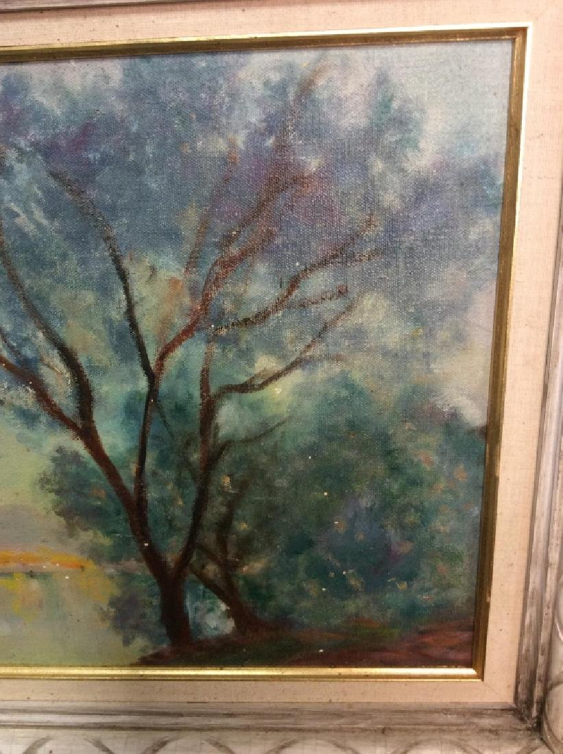Landscape Painting Framed Oil on Canvas - 3