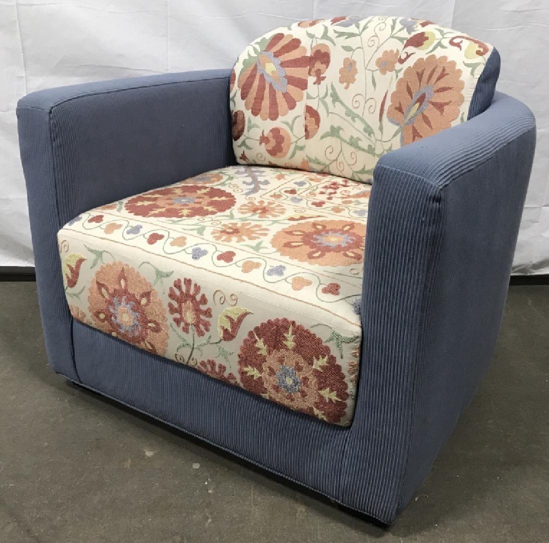 Custom Designed Round Back Arm Chair