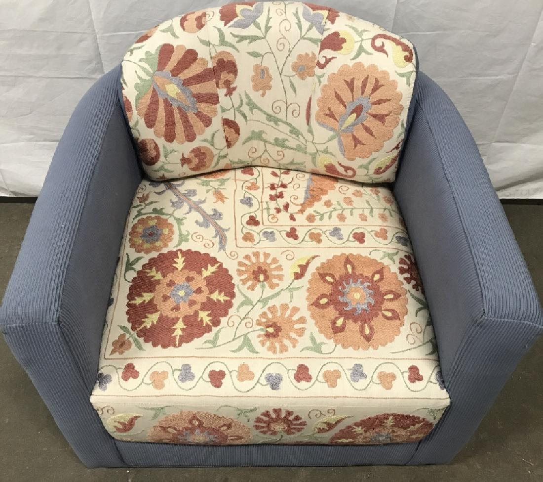 Custom Designed Round Back Arm Chair - 2