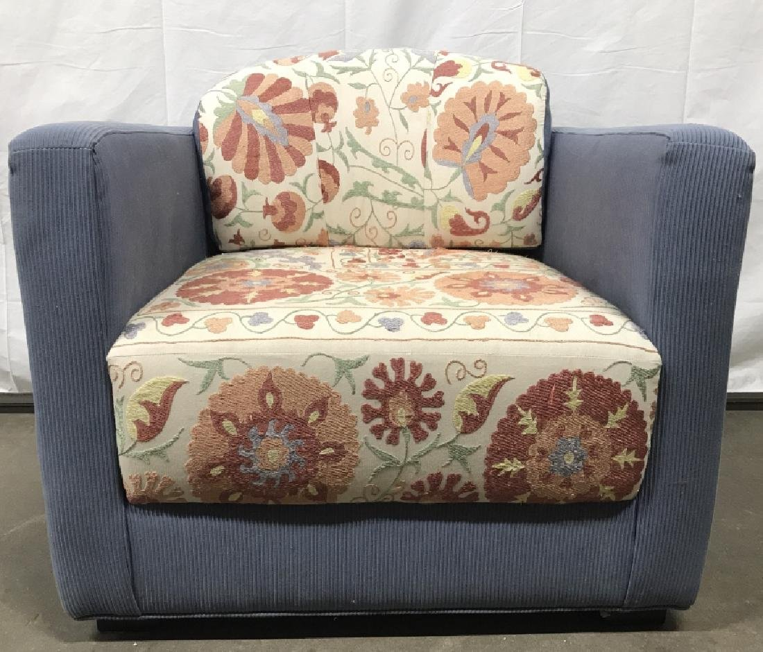 Custom Designed Round Back Arm Chair - 3