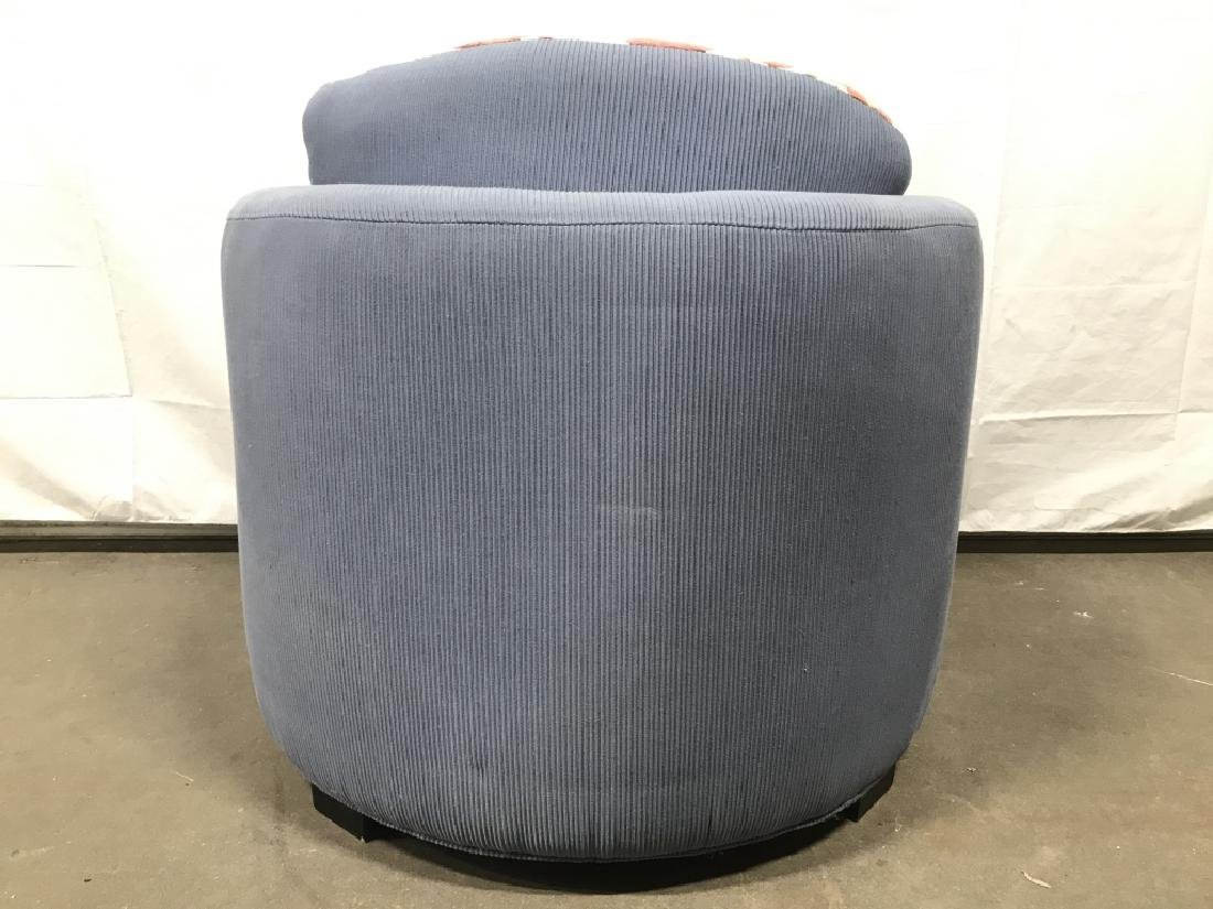 Custom Designed Round Back Arm Chair - 9