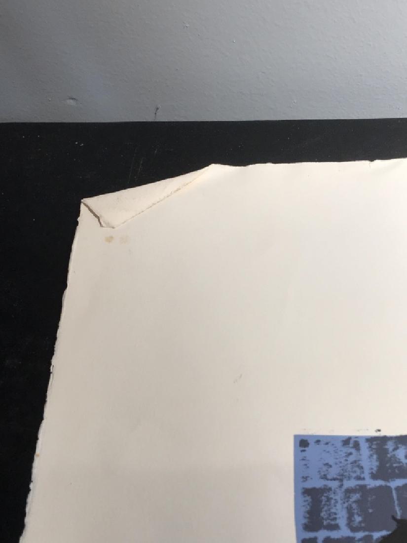 Signed GLOWATTS Limited Edition Silkscreen Art - 12