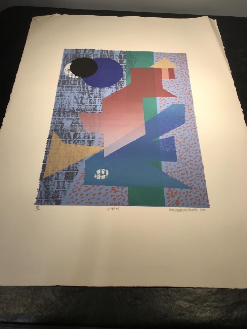 Signed GLOWATTS Limited Edition Silkscreen Art - 13