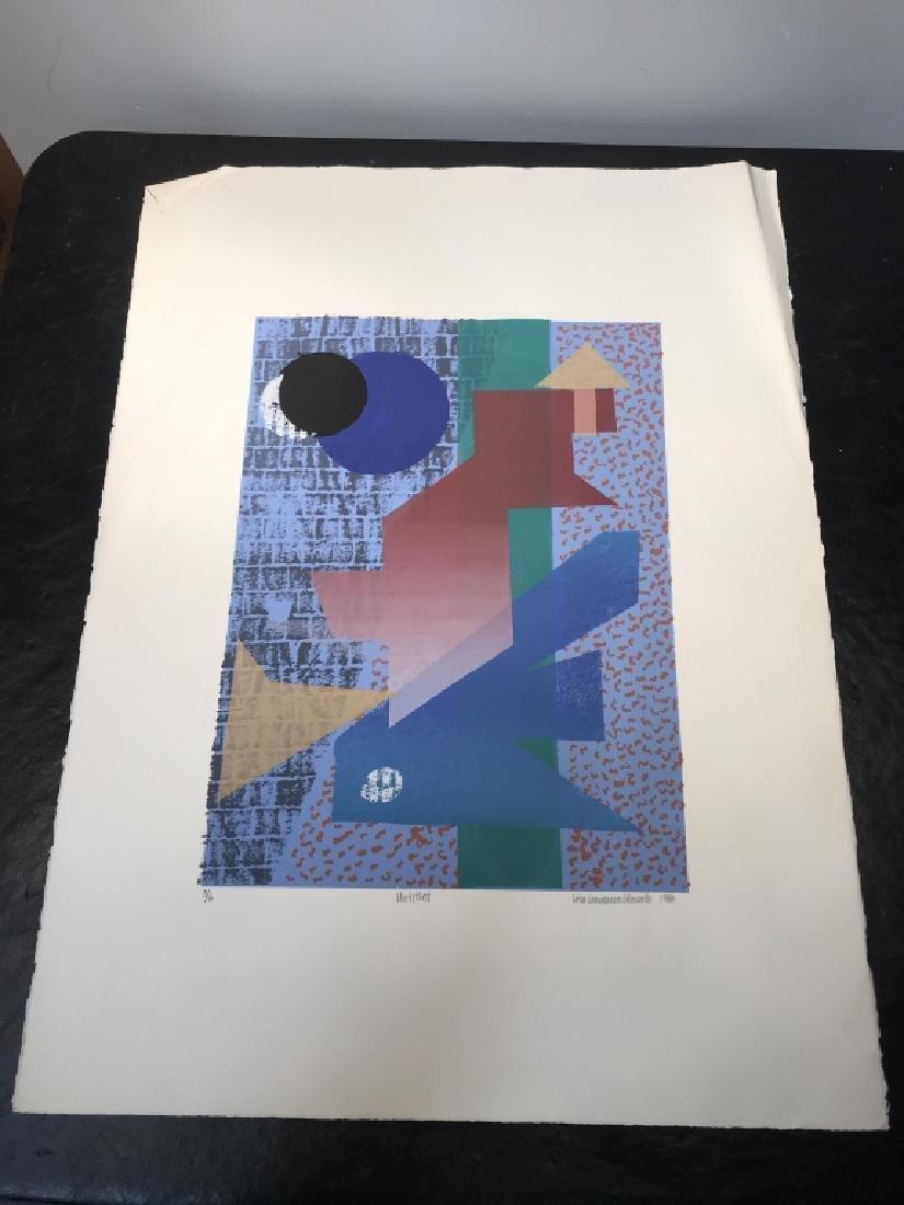 Signed GLOWATTS Limited Edition Silkscreen Art - 7