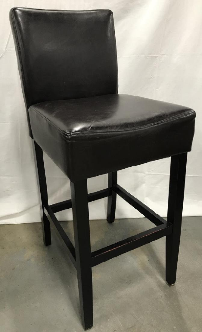 Set 4 Bar Stools Counter Stools - 2