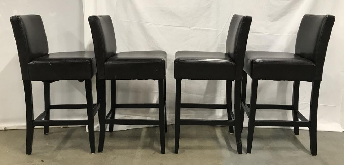 Set 4 Bar Stools Counter Stools - 4