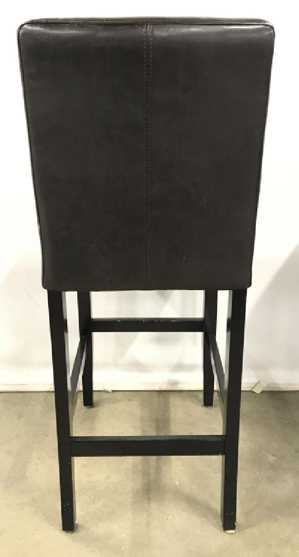 Set 4 Bar Stools Counter Stools - 5