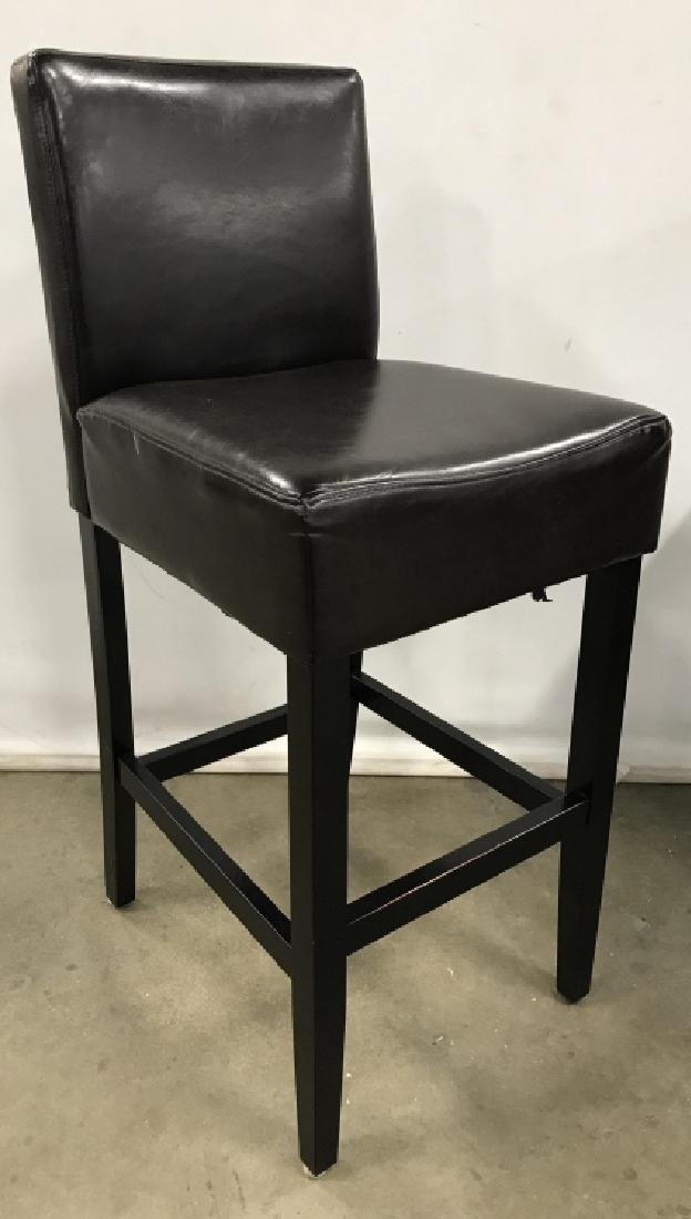 Set 4 Bar Stools Counter Stools - 6