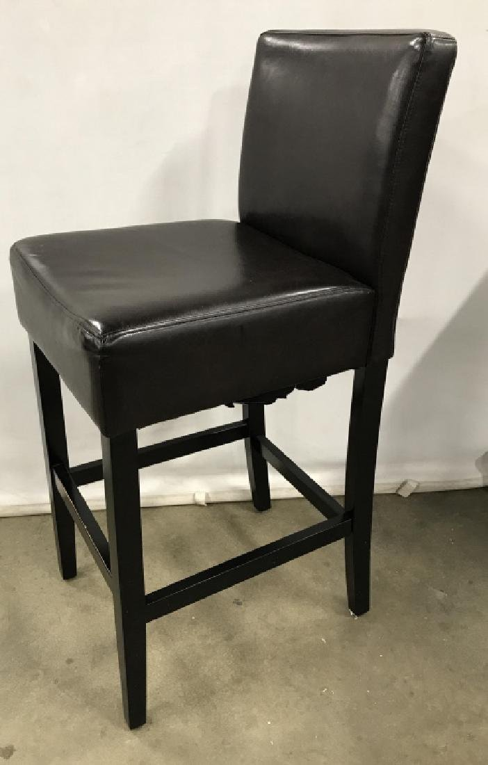 Set 4 Bar Stools Counter Stools - 7