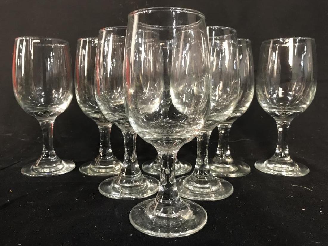 Lot 8 Steware Wine Glasses
