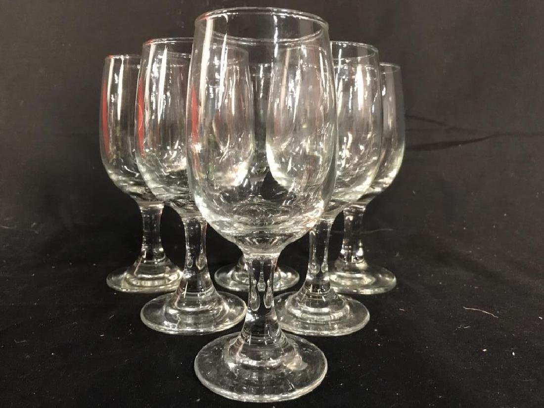 Lot 8 Steware Wine Glasses - 2