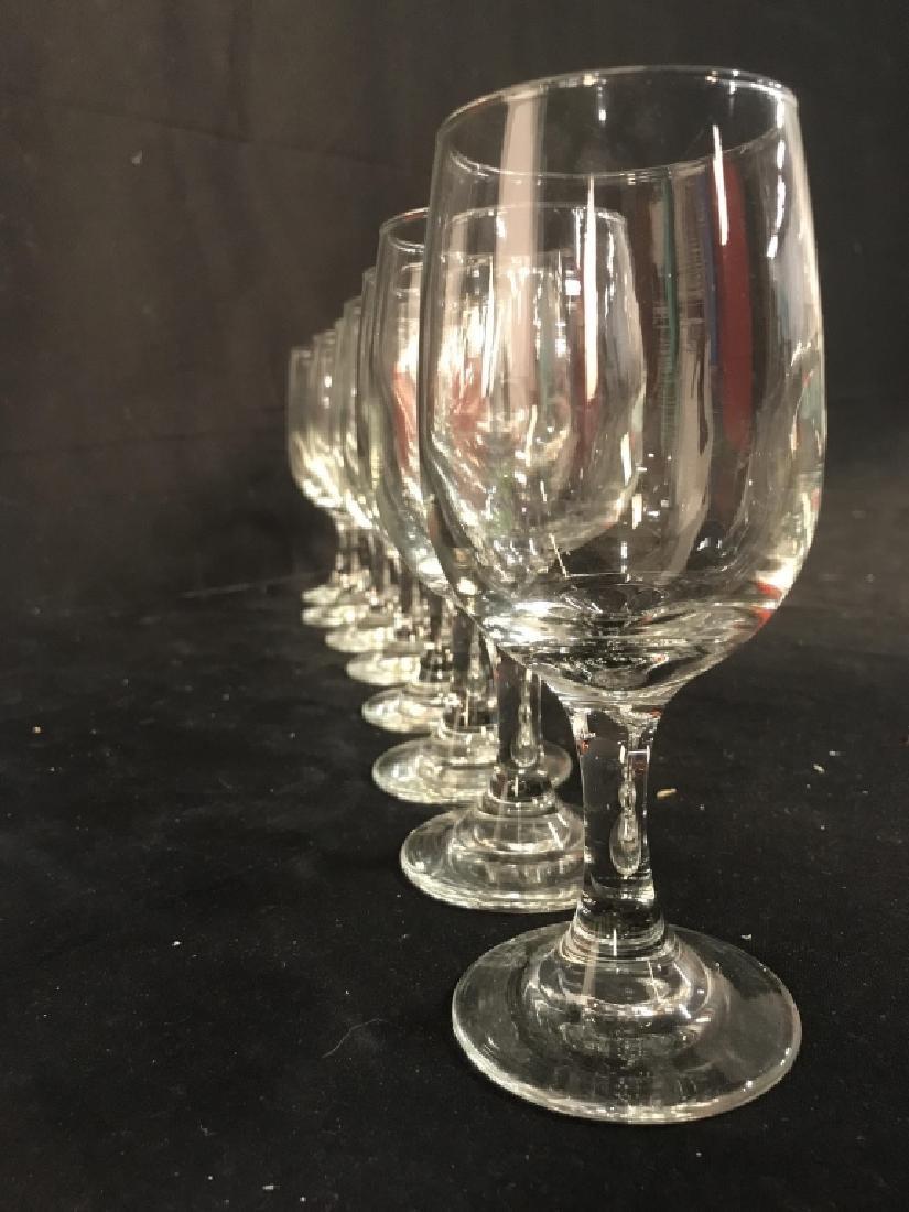 Lot 8 Steware Wine Glasses - 4