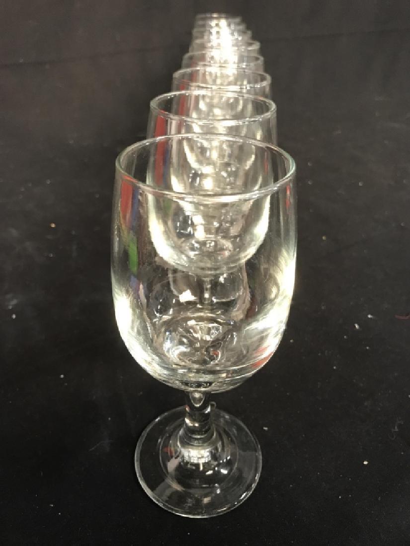 Lot 8 Steware Wine Glasses - 5