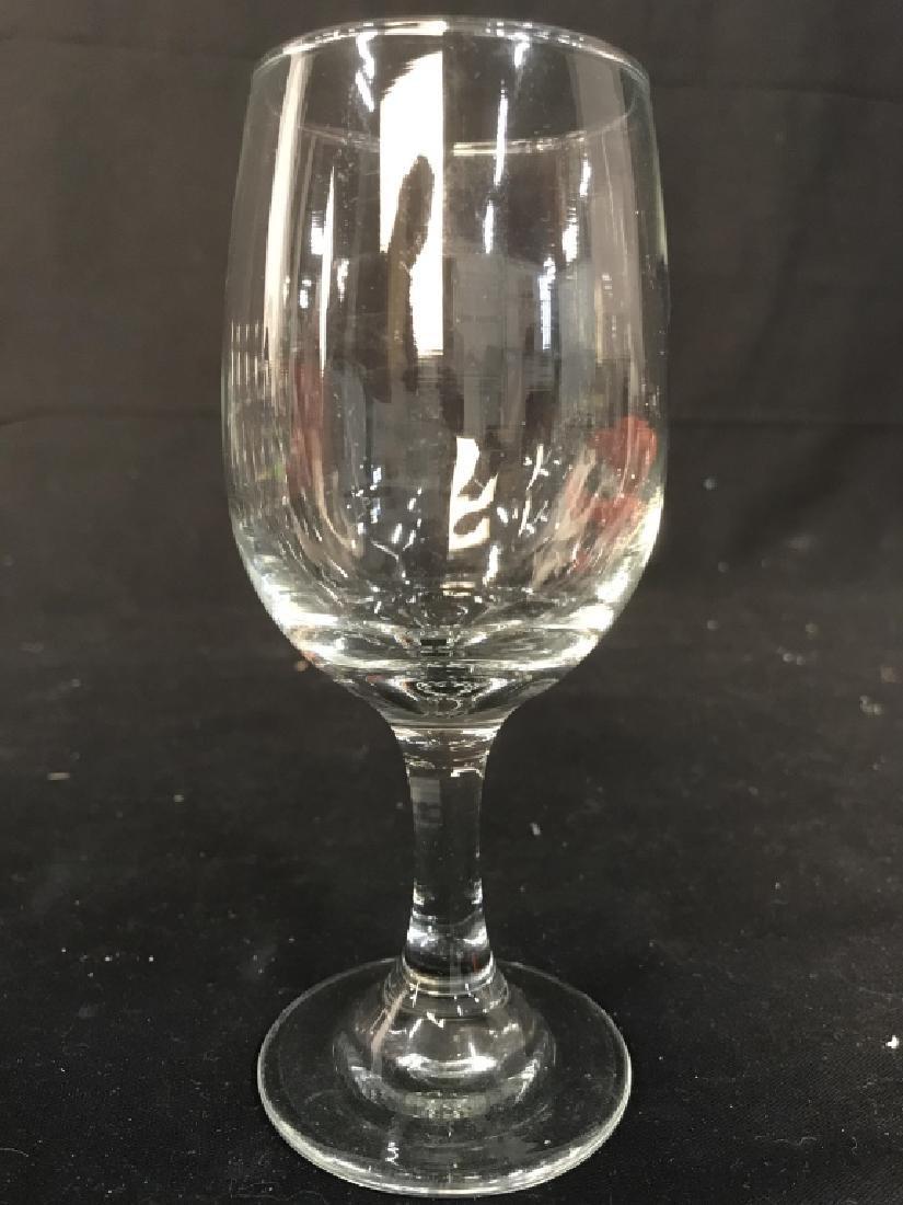 Lot 8 Steware Wine Glasses - 7