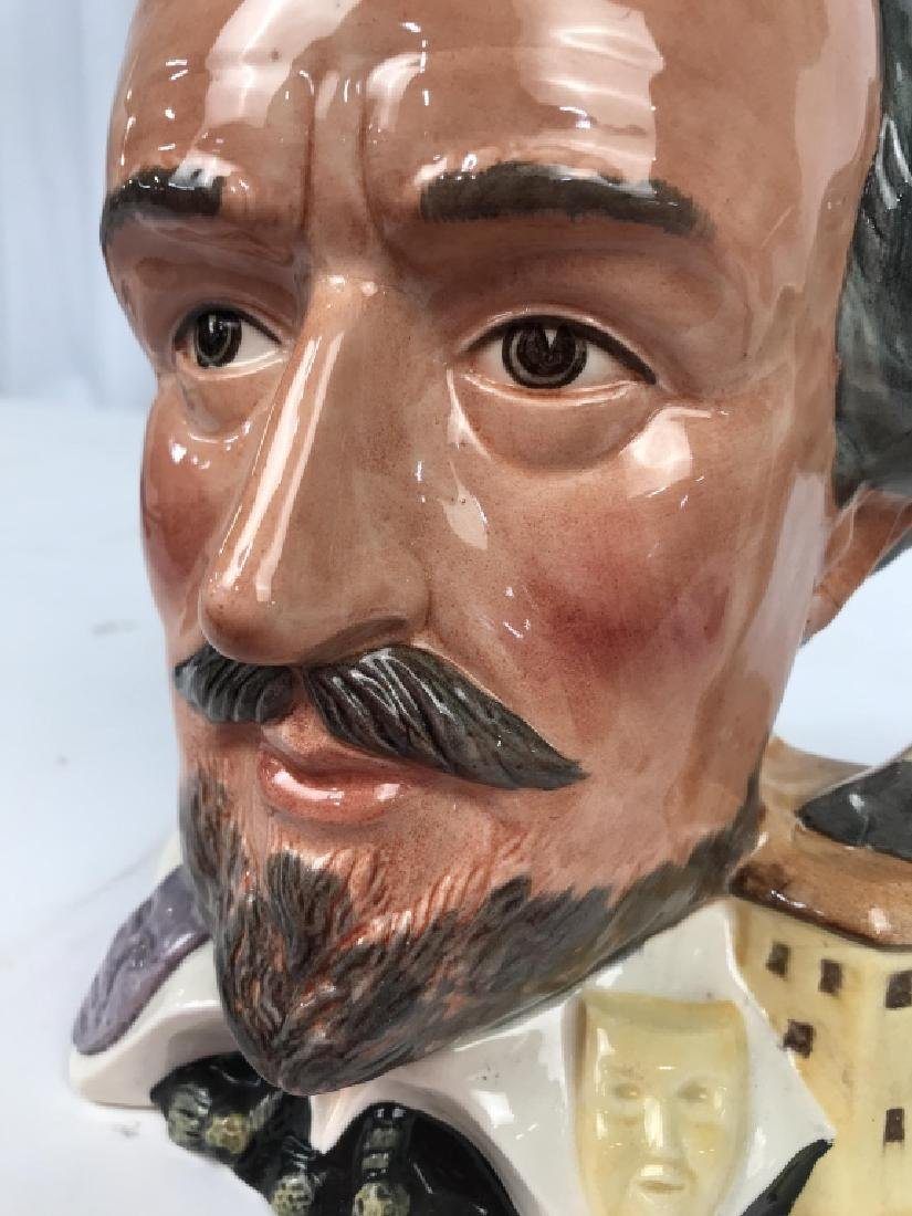 Royal Doulton Shakespeare Porcelain Character Jug