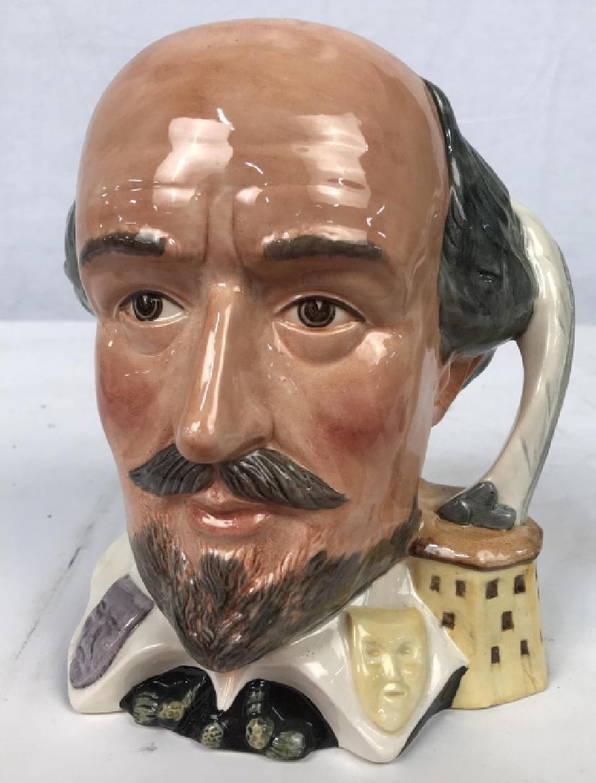 Royal Doulton Shakespeare Porcelain Character Jug - 2