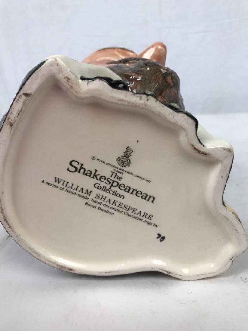 Royal Doulton Shakespeare Porcelain Character Jug - 9