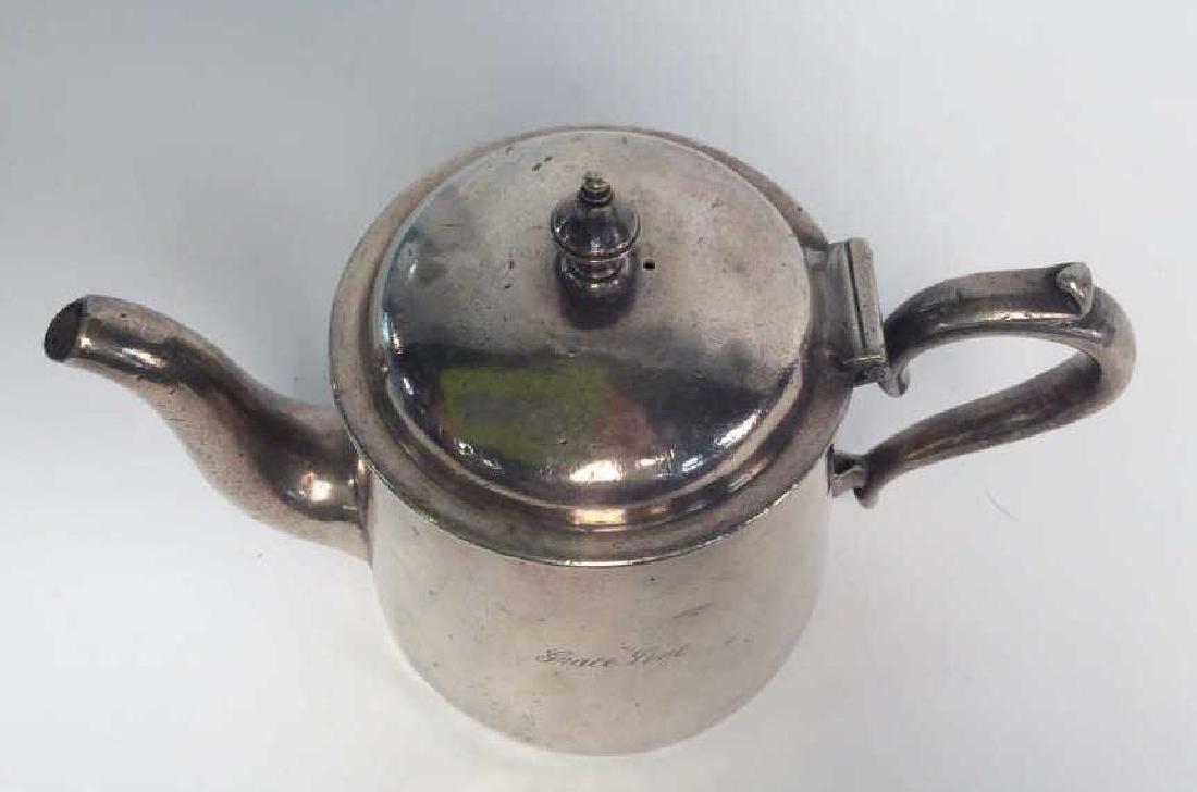 Vintage Silver Plated Tea Pot, Grace Line - 2