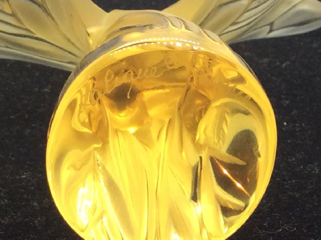 Lalique French Art Glass Butterfly Figural - 3