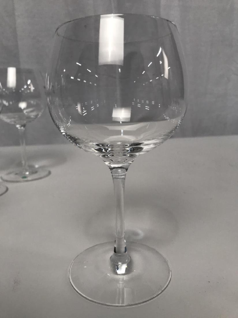 Tiffany Crystal Red Wine 8 Glasses, signed - 7