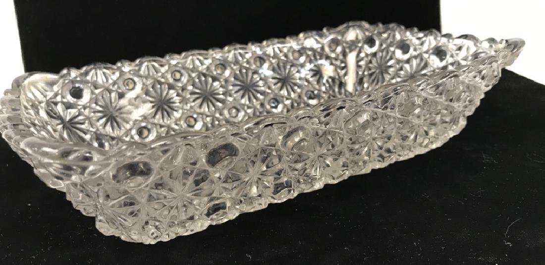 Vintage Pressed Glass Candy Dish