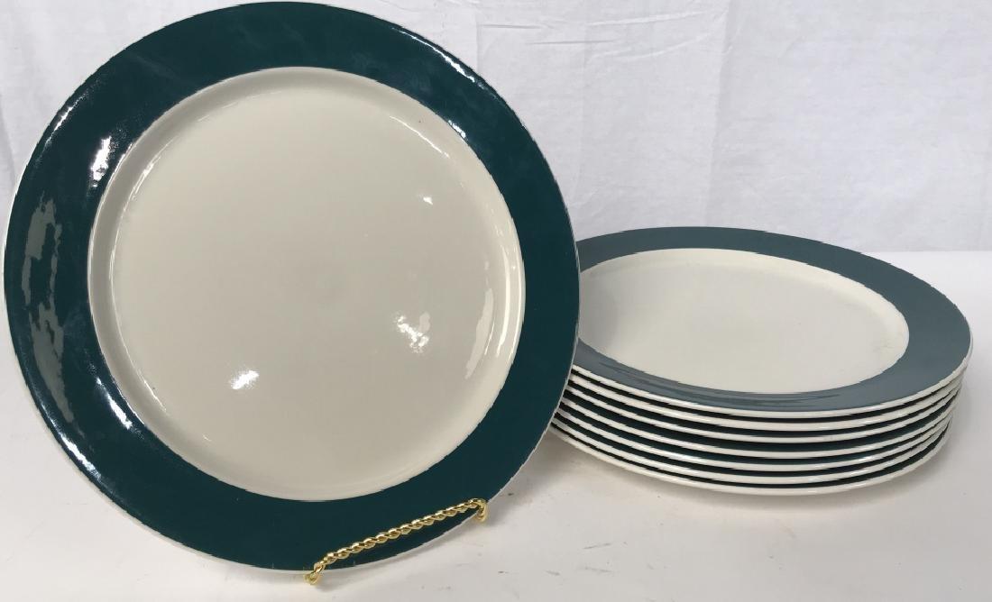 Set of 8 VILLEROY and BOCH Porcelain Dinner Plates
