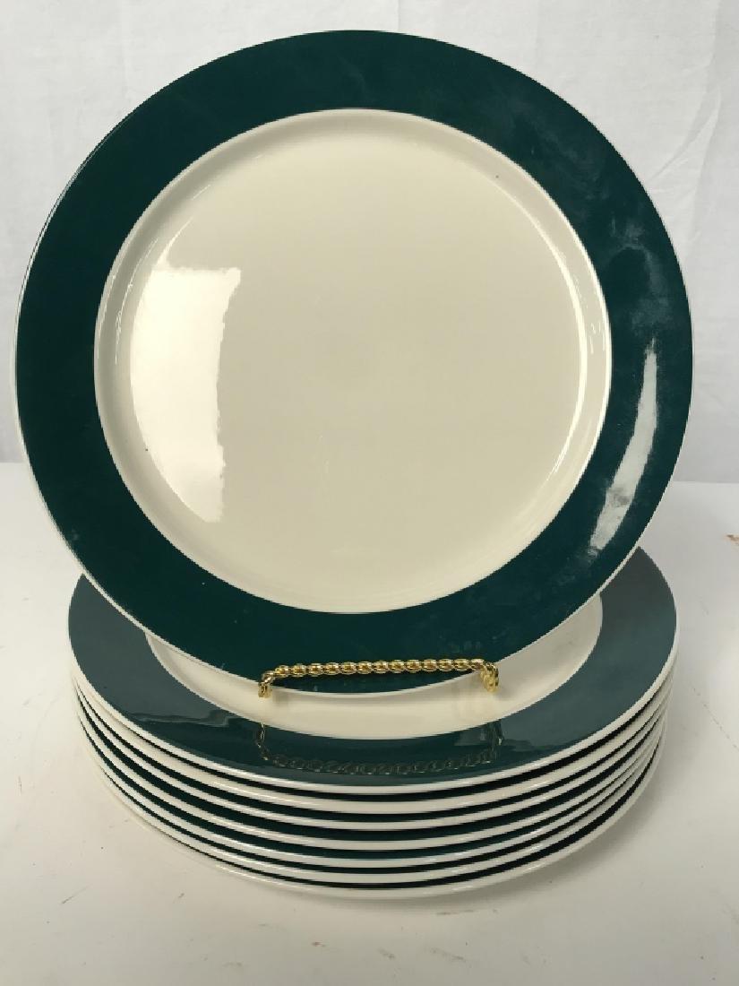 Set of 8 VILLEROY and BOCH Porcelain Dinner Plates - 2
