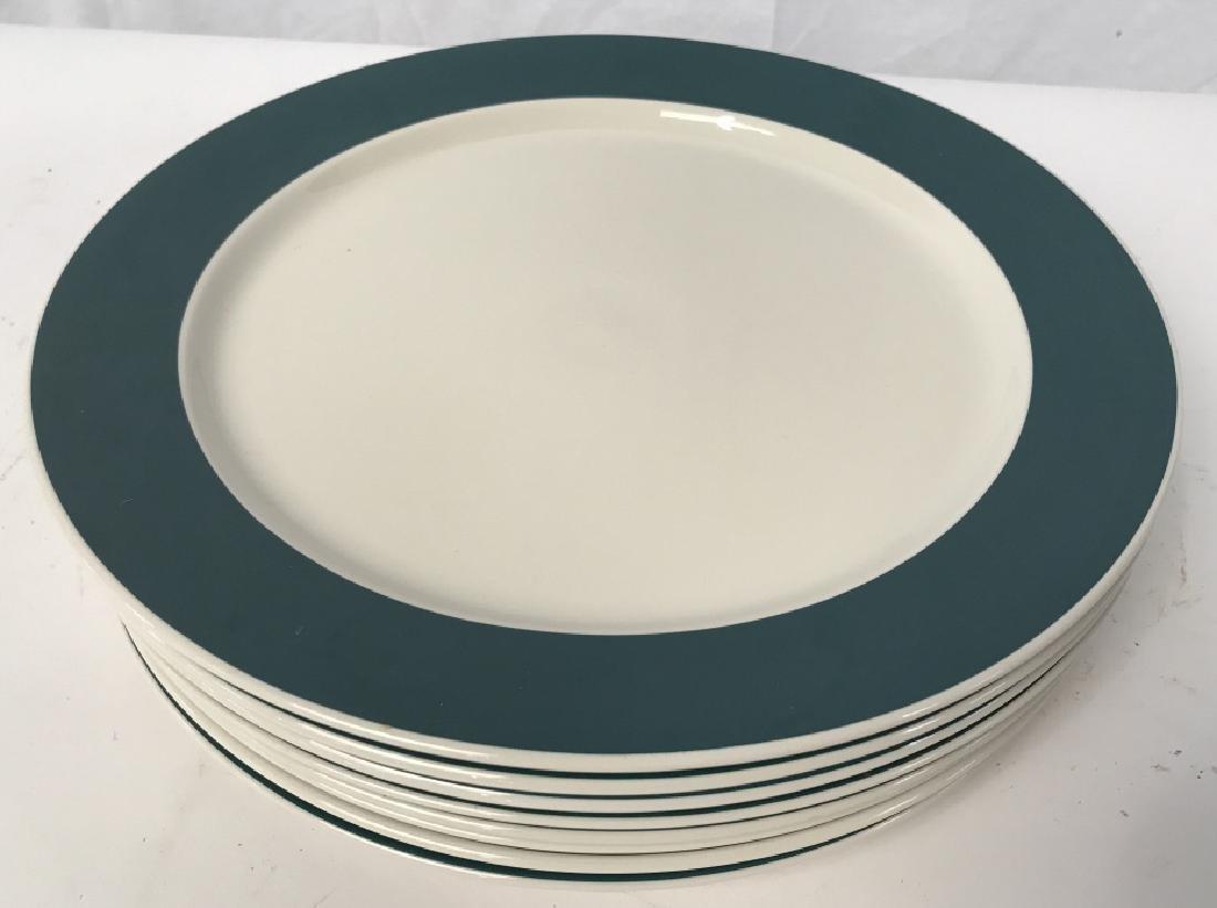 Set of 8 VILLEROY and BOCH Porcelain Dinner Plates - 6