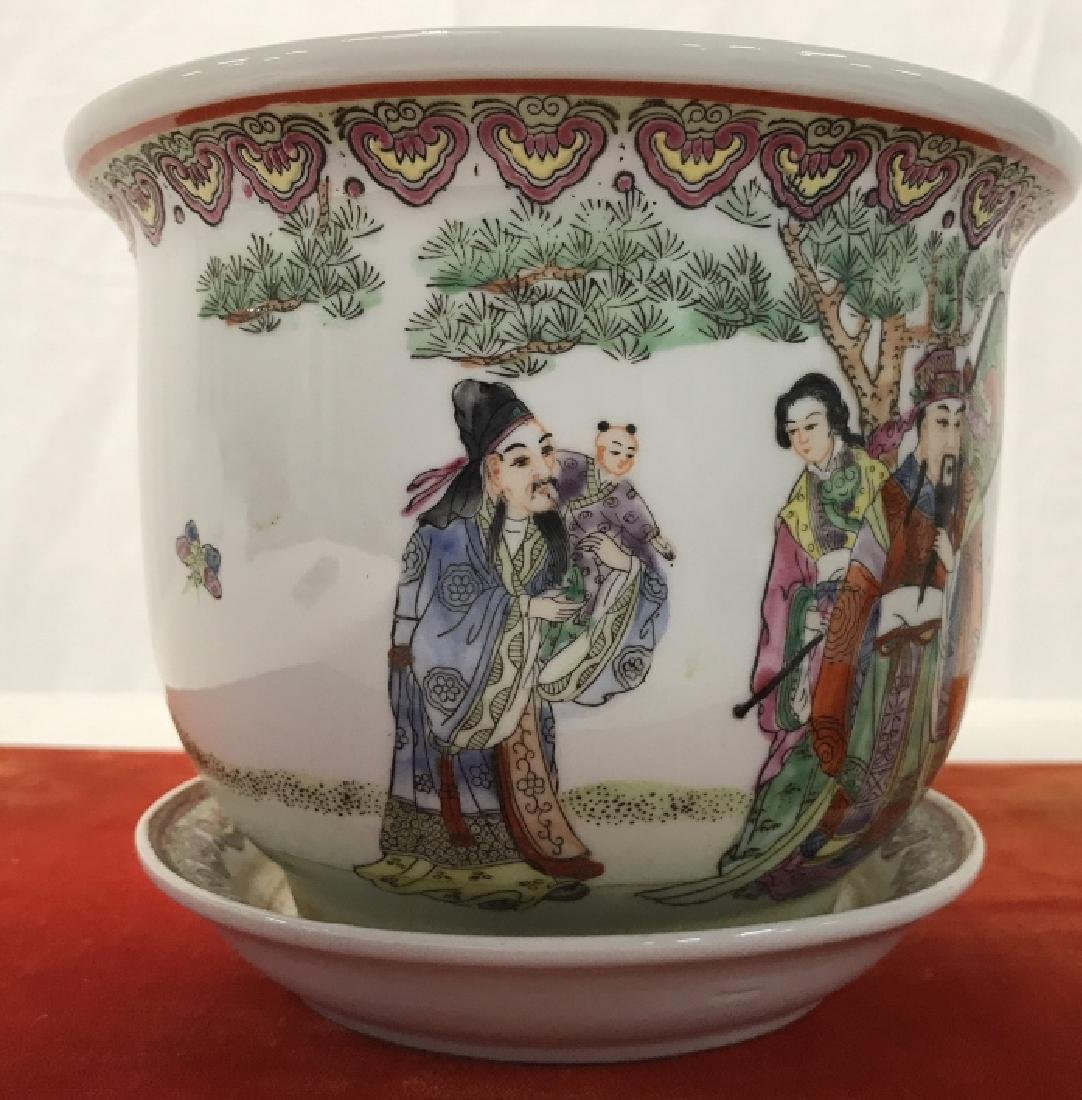 Pair of Oriental Style Planters - 3