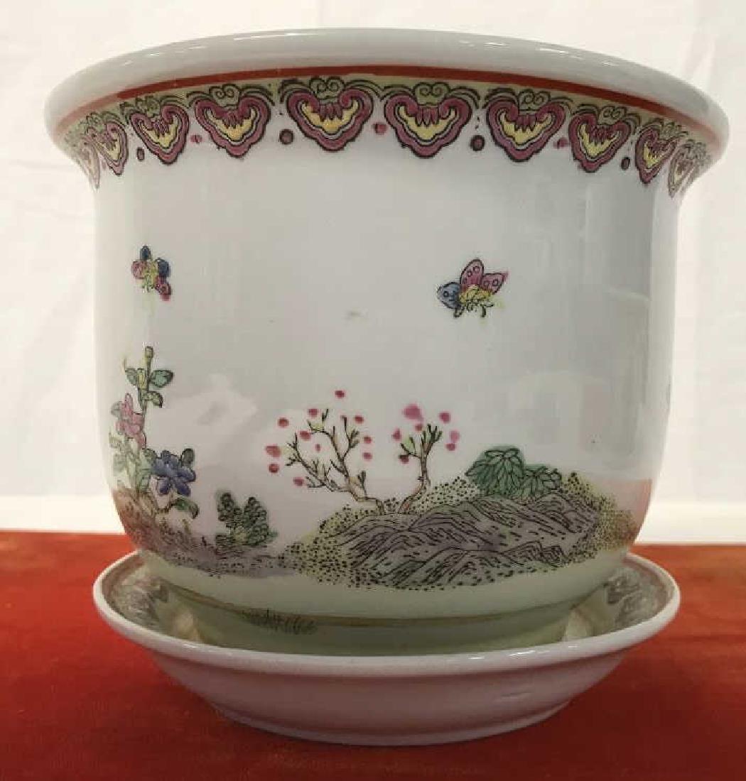 Pair of Oriental Style Planters - 4