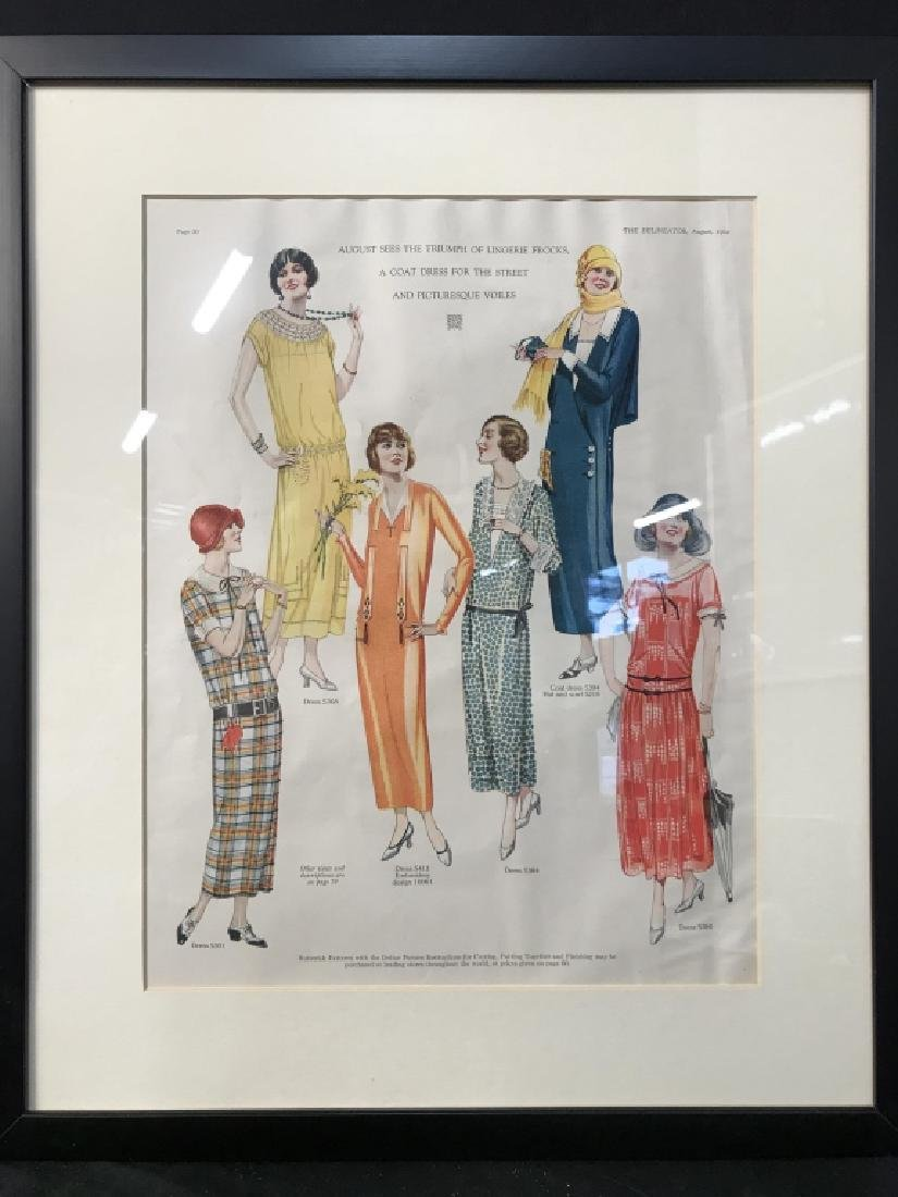 THE DELINEATOR Print Of Female Figures