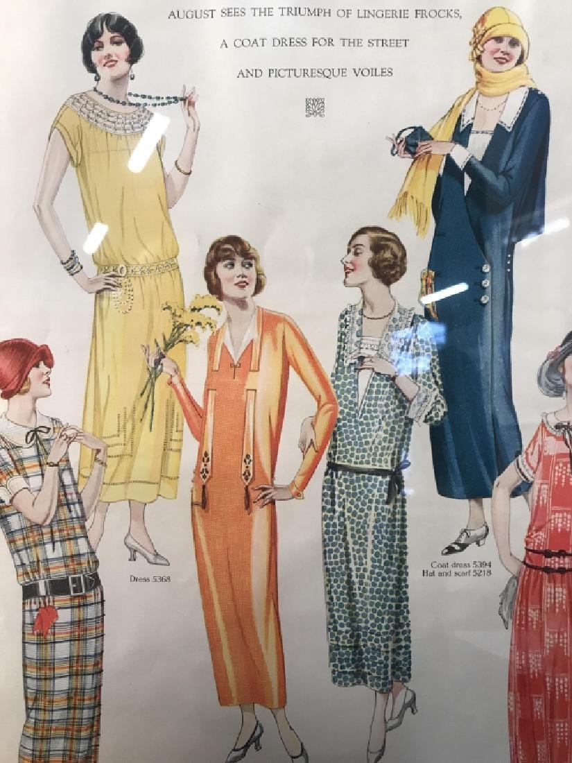THE DELINEATOR Print Of Female Figures - 3