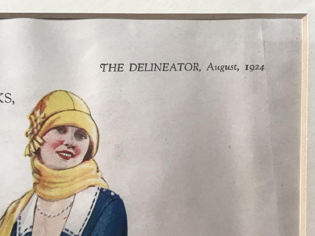 THE DELINEATOR Print Of Female Figures - 7