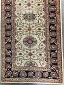 Handmade Vintage Oriental Wool Carpet Runner