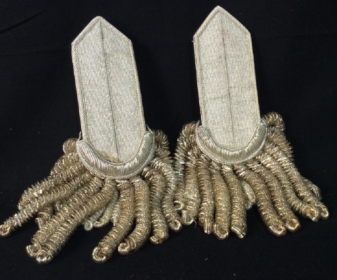 Antique Military Dress Epaulets