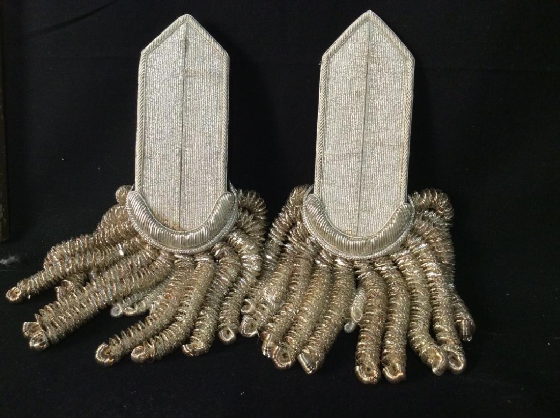 Antique Military Dress Epaulets - 2