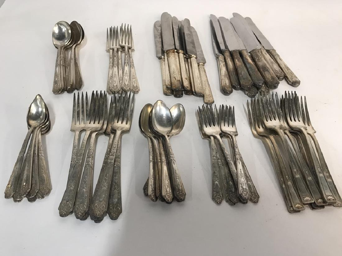 74 Piece R. Wallace SilverPlate Flatware