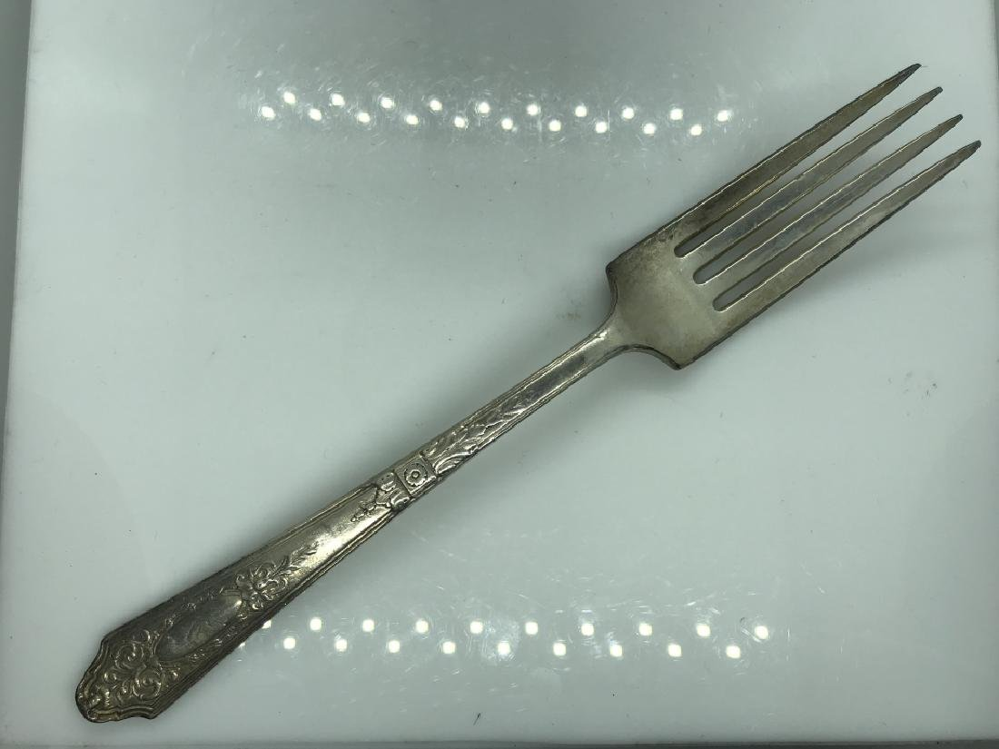 74 Piece R. Wallace SilverPlate Flatware - 9