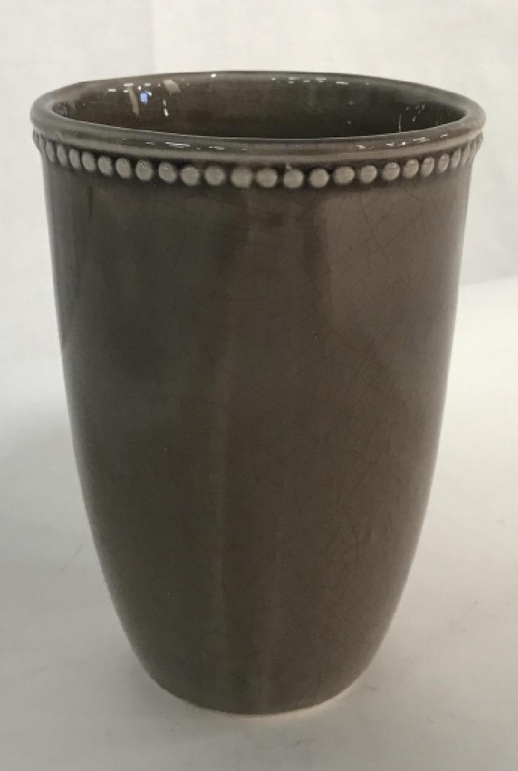 Narrow Ceramic Planter - 2
