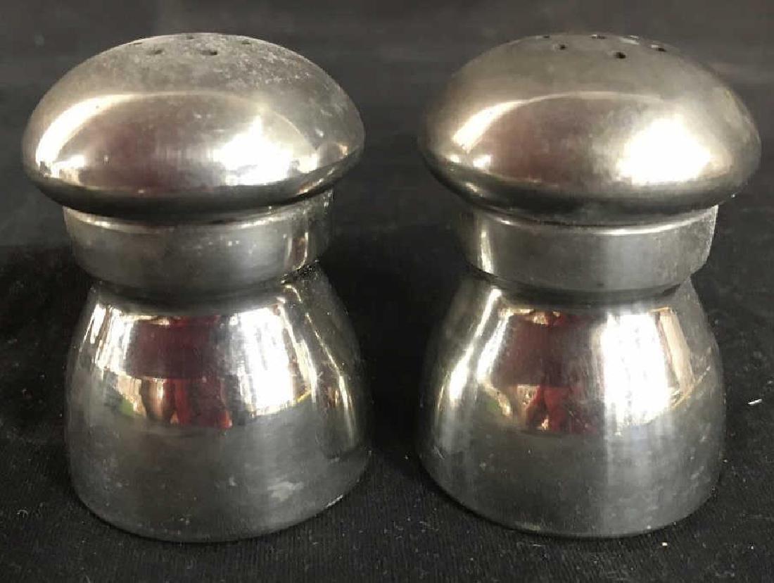 EAGLES OF SHEFFIELD Pewter Salt & Pepper Shakers