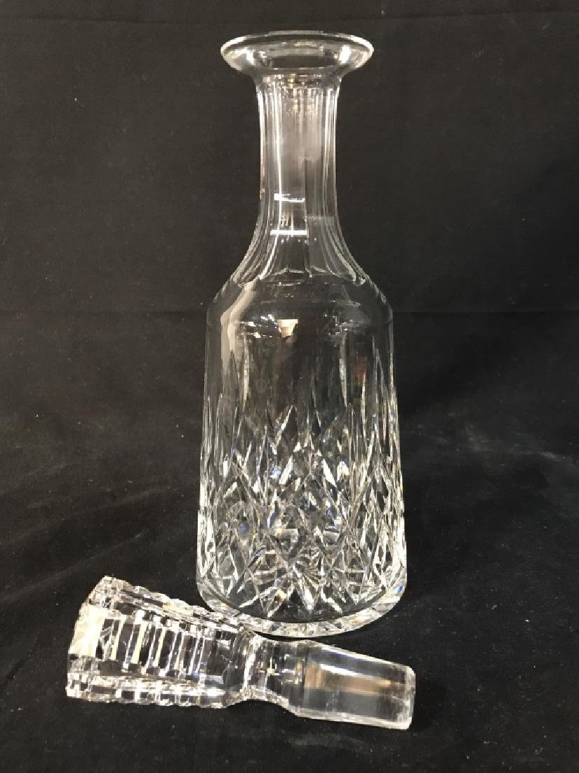 CUT CRYSTAL Decanter W Stopper - 8