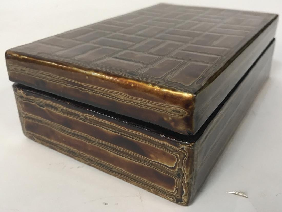 Japanese Lacquer Trinket Box